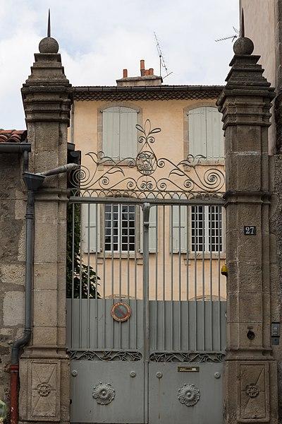 Photo du Monument Historique Hôtel de La Battut situé à Le Puy-en-Velay