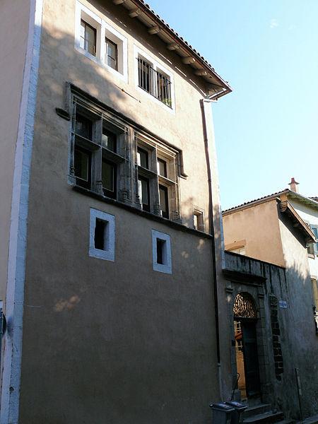 Photo du Monument Historique Ancien hôtel de Fillière de Charouhl situé à Puy-en-Velay (Le)