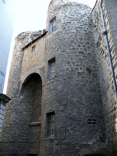 Photo du Monument Historique Hôtel Hugon de Coubladour situé à Le Puy-en-Velay