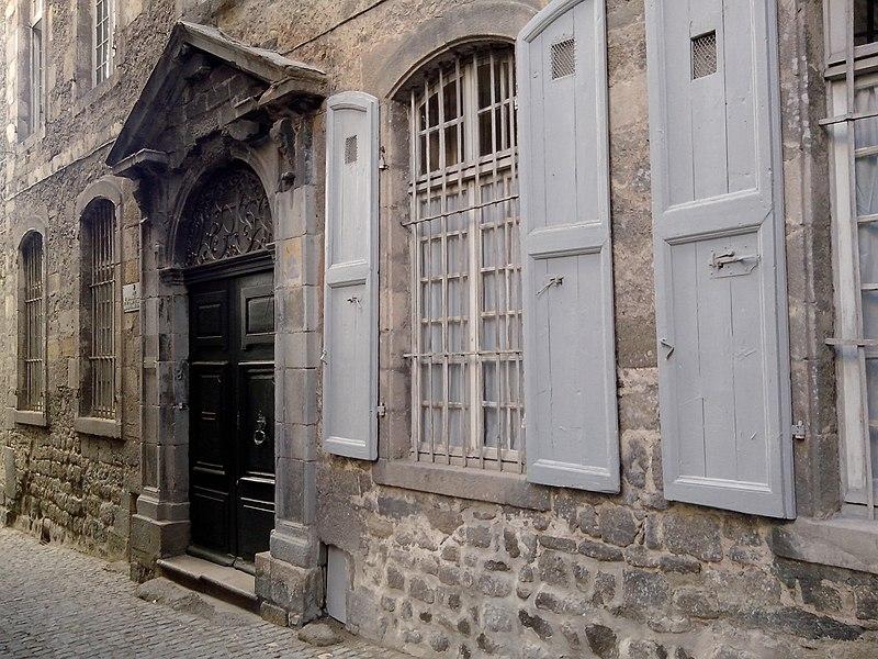 Photo du Monument Historique Hôtel Jerphanion-Cambacérès situé à Le Puy-en-Velay