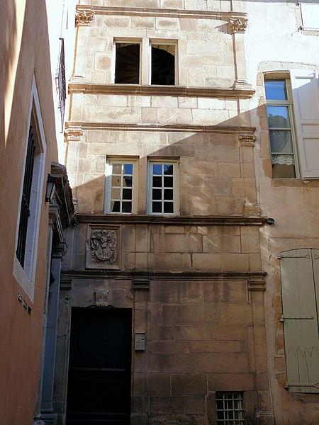 Photo du Monument Historique Hôtel de Vinols situé à Puy-en-Velay (Le)
