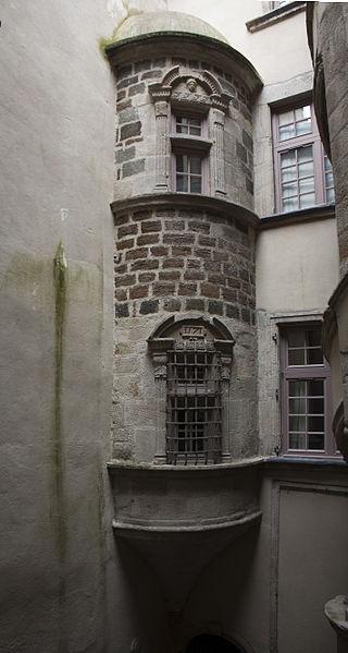 Photo du Monument Historique Immeuble situé à Le Puy-en-Velay