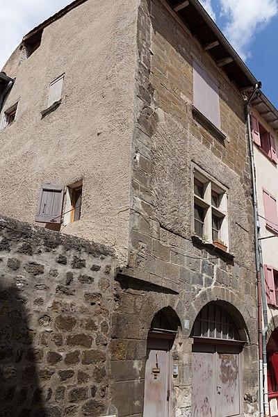 Photo du Monument Historique Maison situé à Puy-en-Velay (Le)