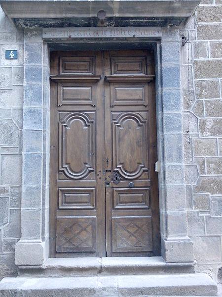 Photo du Monument Historique Manécanterie Notre-Dame (ancien Hôtel de Saint-Vidal) situé à Puy-en-Velay (Le)