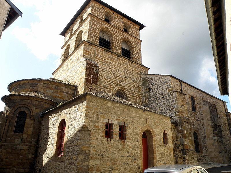 Photo du Monument Historique Eglise Saint-Jean-Baptiste situé à Retournac