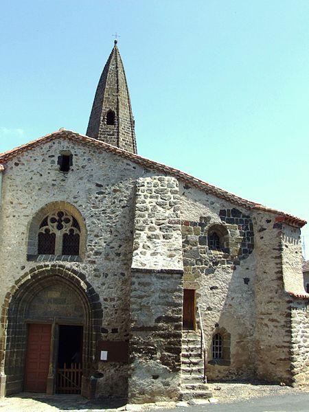 Photo du Monument Historique Eglise Saint-Cirgues situé à Saint-Cirgues