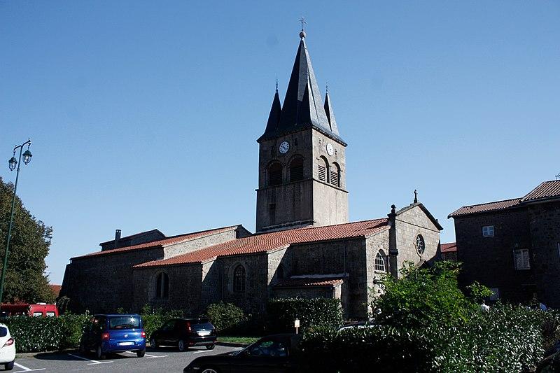 Photo du Monument Historique Eglise Saint-Didier situé à Saint-Didier-en-Velay