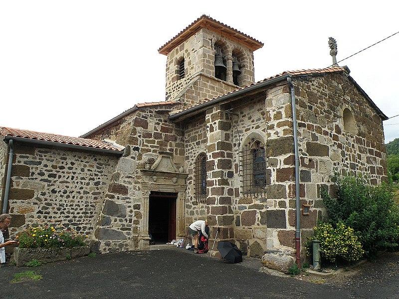 Photo du Monument Historique Eglise Saint-Barthélémy situé à Saint-Geneys-près-Saint-Paulien