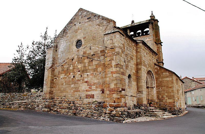 Photo du Monument Historique Eglise Saint-Haon situé à Saint-Haon