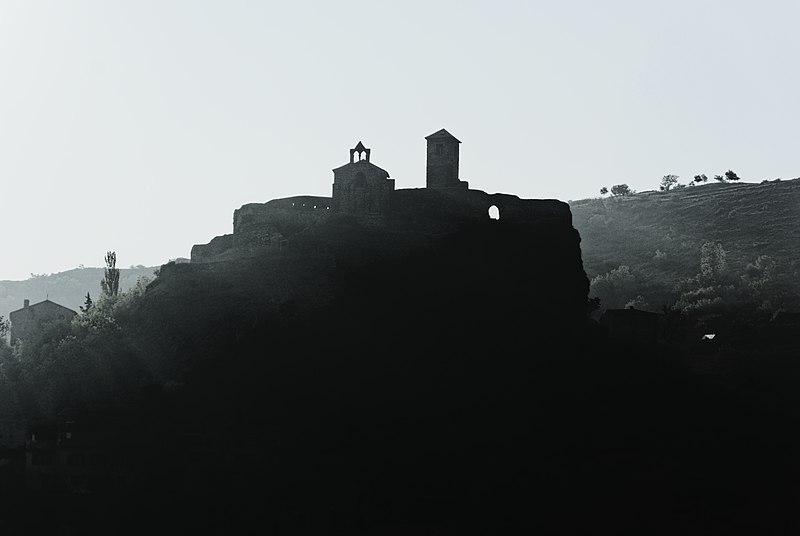 Photo du Monument Historique Château et sa chapelle situé à Saint-Ilpize
