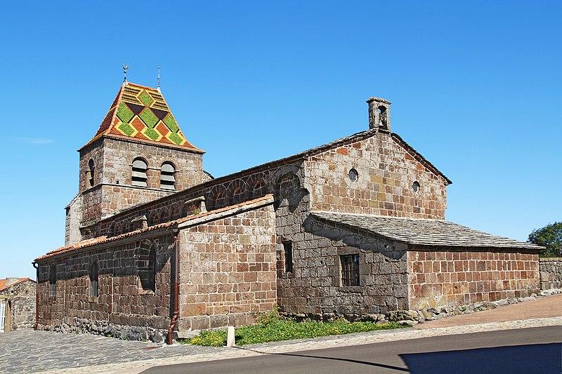 Photo du Monument Historique Eglise Saint-Jean-Baptiste situé à Saint-Jean-Lachalm