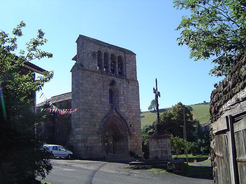 Photo du Monument Historique Eglise de la Nativité de la Sainte-Vierge situé à Saint-Martin-de-Fugères
