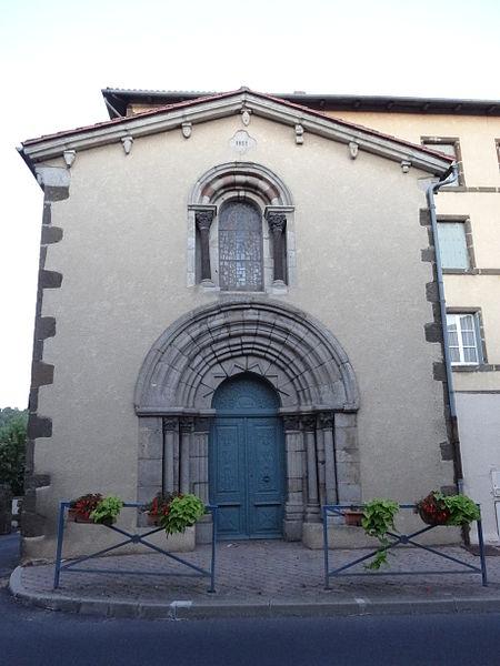 Photo du Monument Historique Chapelle Saint-Joseph situé à Saint-Paulien