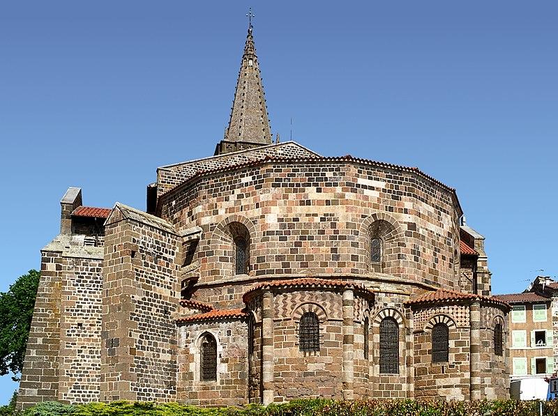 Photo du Monument Historique Eglise Saint-Georges situé à Saint-Paulien