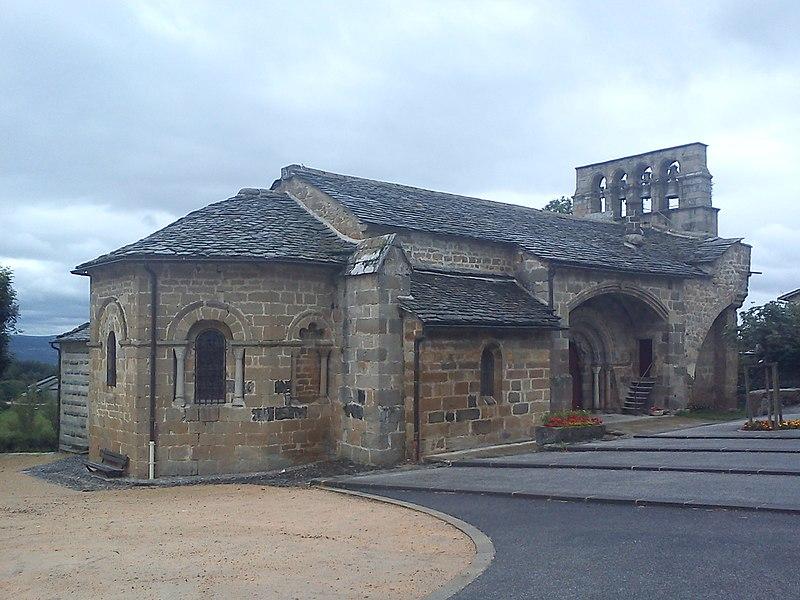 Photo du Monument Historique Eglise Saint-Pierre situé à Saint-Pierre-Eynac