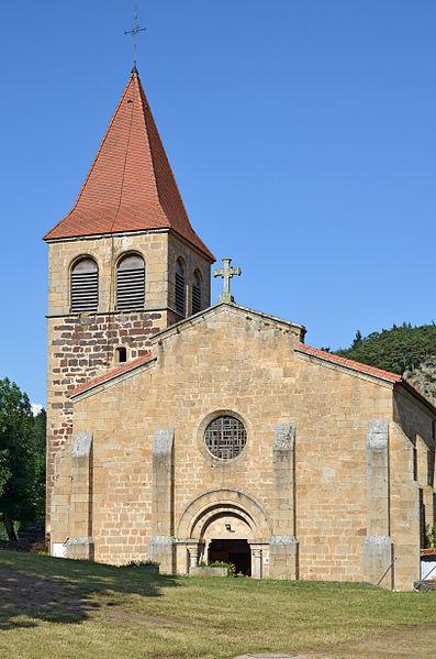 Photo du Monument Historique Eglise Saint-Privat situé à Saint-Privat-d'Allier