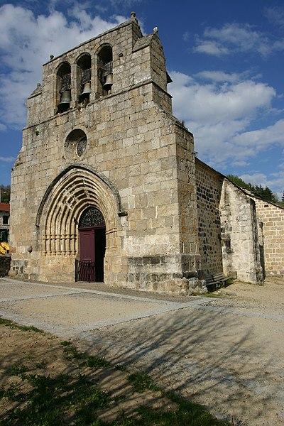 Photo du Monument Historique Eglise Saint-Pierre situé à Salettes