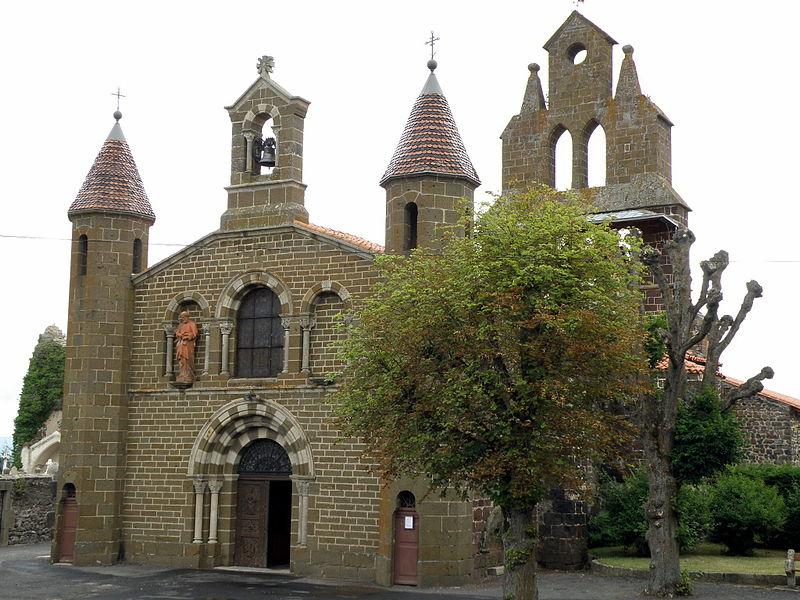 Photo du Monument Historique Eglise Saint-Vincent situé à Solignac-sur-Loire