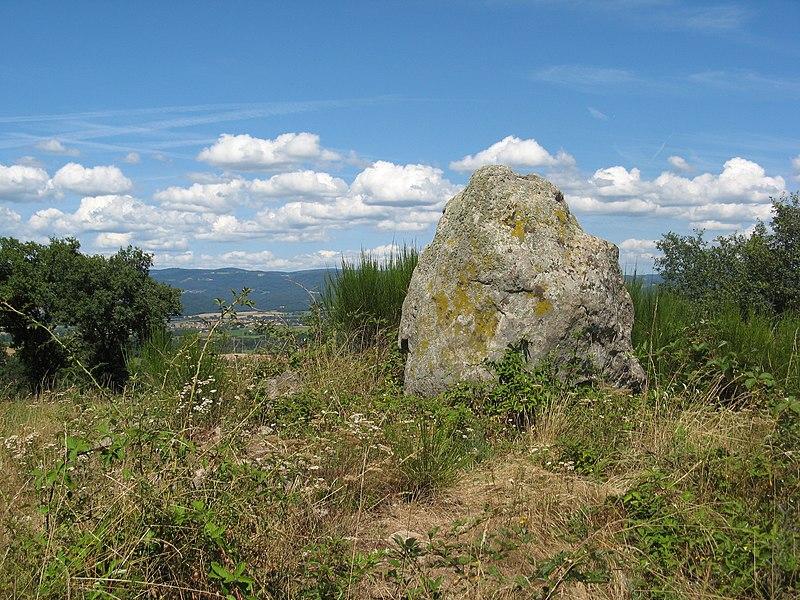 Photo du Monument Historique Dolmen situé à Vieille-Brioude