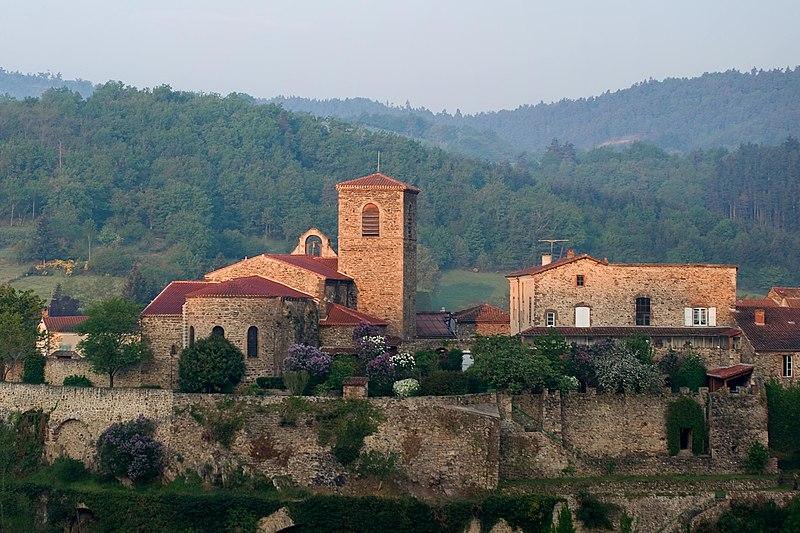 Photo du Monument Historique Eglise Sainte-Anne situé à Vieille-Brioude