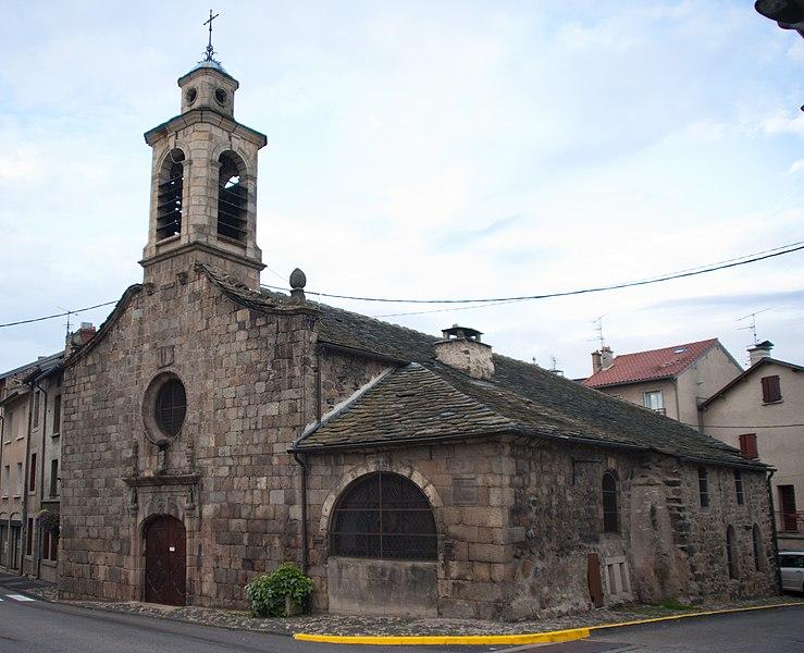 Photo du Monument Historique Chapelle des Pénitents situé à Yssingeaux