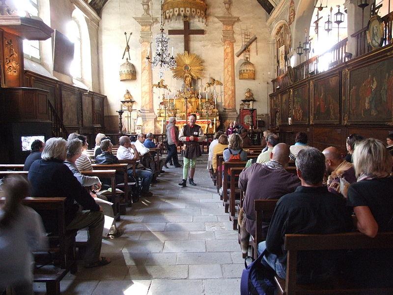 Photo du Monument Historique Chapelle des Pénitents Blancs situé à Le Puy-en-Velay