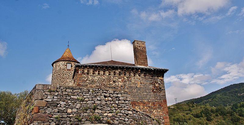 Photo du Monument Historique Château situé à Saint-Didier-d'Allier