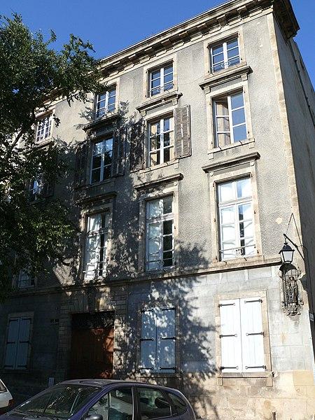 Photo du Monument Historique Hôtel Mailhet de Vachères situé à Le Puy-en-Velay
