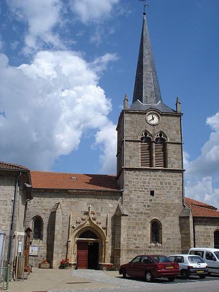 Photo du Monument Historique Eglise Saint-Pierre situé à Boisset