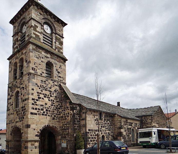 Photo du Monument Historique Eglise Saint-Pierre-aux-Liens situé à Laussonne