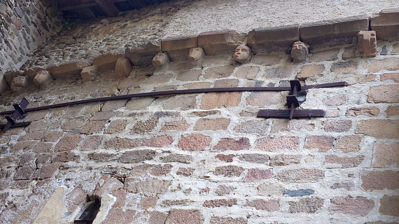 Photo du Monument Historique Eglise Saint-Jean-Baptiste situé à Saint-Vert
