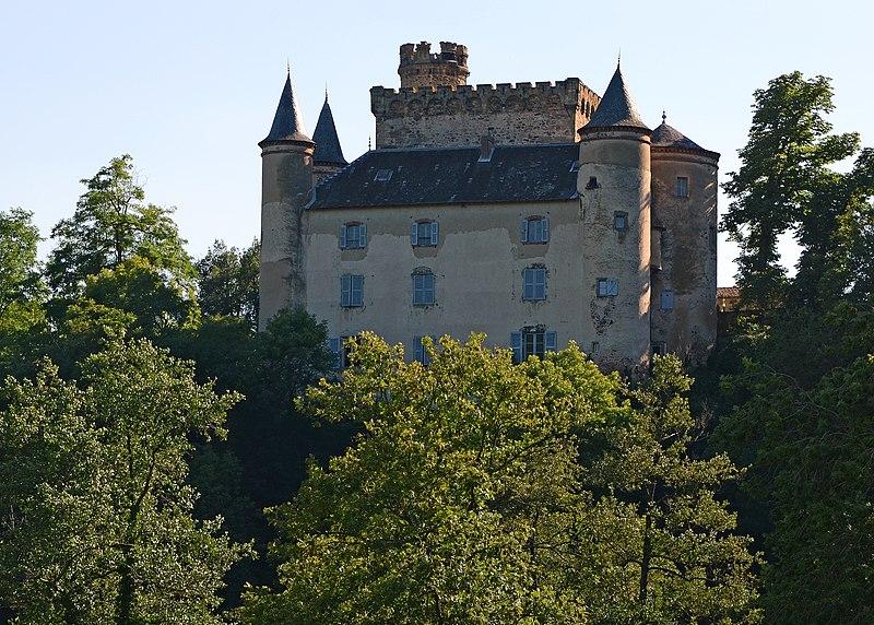 Photo du Monument Historique Château de Torsiac situé à Torsiac