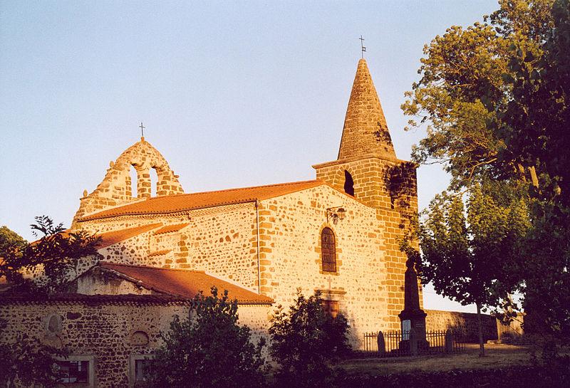 Photo du Monument Historique Eglise Saint-Sylvestre situé à Cerzat