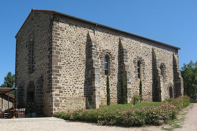 Photo du Monument Historique Léproserie de la Bajasse situé à Vieille-Brioude