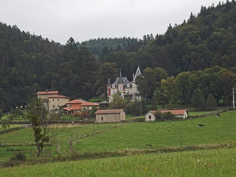 Photo du Monument Historique Château de Martinas situé à Monistrol-sur-Loire