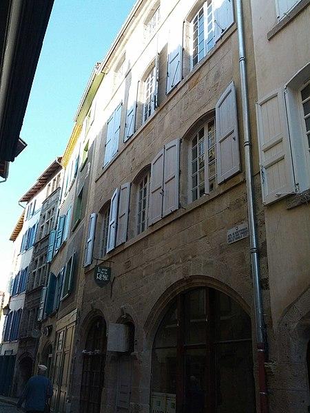 Photo du Monument Historique Hôtel de Monteyremard situé à Le Puy-en-Velay