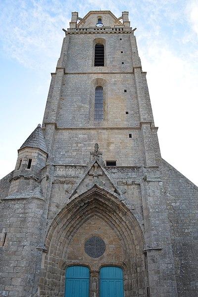 Photo du Monument Historique Eglise Saint-Guénolé situé à Batz-sur-Mer