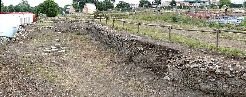 Photo du Monument Historique Mur situé à Rezé