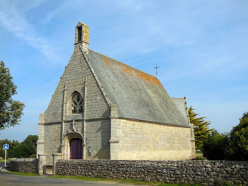 Photo du Monument Historique Chapelle du Crucifix situé à Croisic (Le)