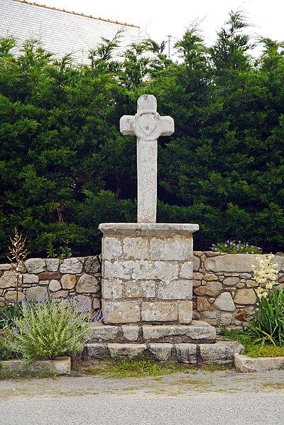Photo du Monument Historique Croix de Kervaudu situé à Croisic (Le)