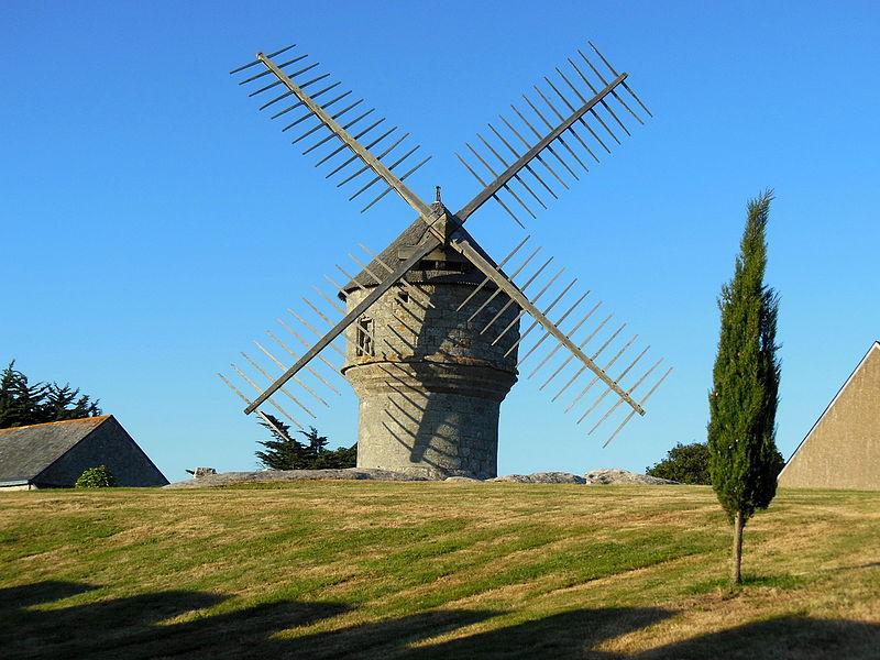 Photo du Monument Historique Moulin de Crémeur situé à Guérande