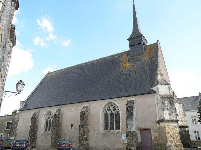 Photo du Monument Historique Eglise Saint-Martin situé à Lavau-sur-Loire