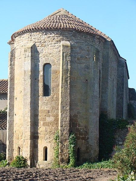 Photo du Monument Historique Ancienne chapelle Sainte-Marie-Madeleine de Quinquenevent situé à Machecoul