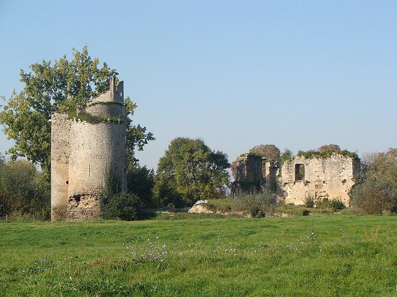 Photo du Monument Historique Château dit de Gilles de Retz et place forte situé à Machecoul