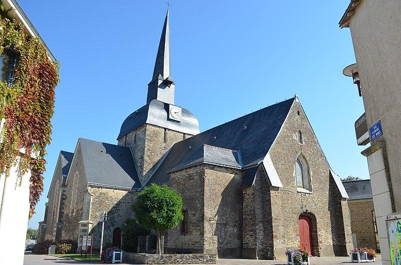 Photo du Monument Historique Eglise situé à Moisdon-la-Rivière