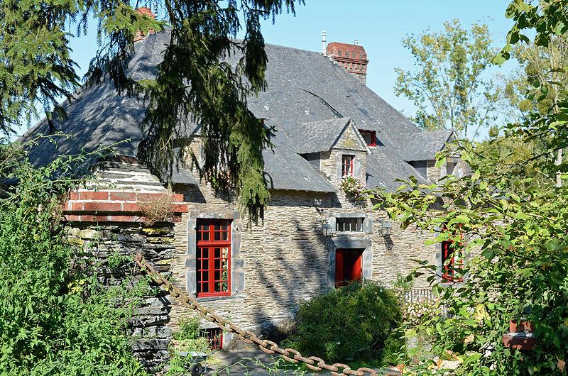 Photo du Monument Historique Maison de maître de Forges (première) situé à Moisdon-la-Rivière