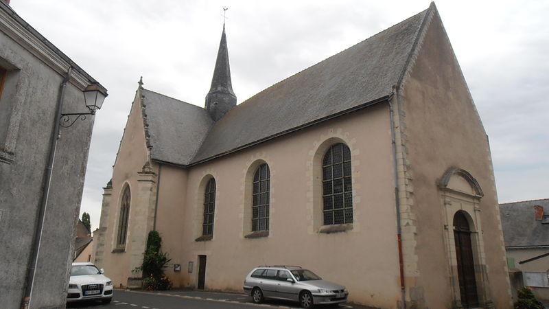 Photo du Monument Historique Eglise situé à Montrelais
