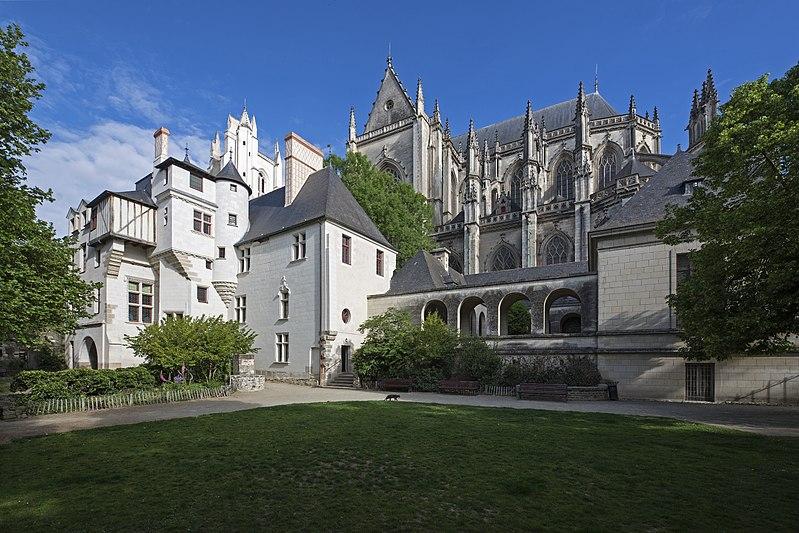 Photo du Monument Historique Bâtiment dit La Psallette situé à Nantes