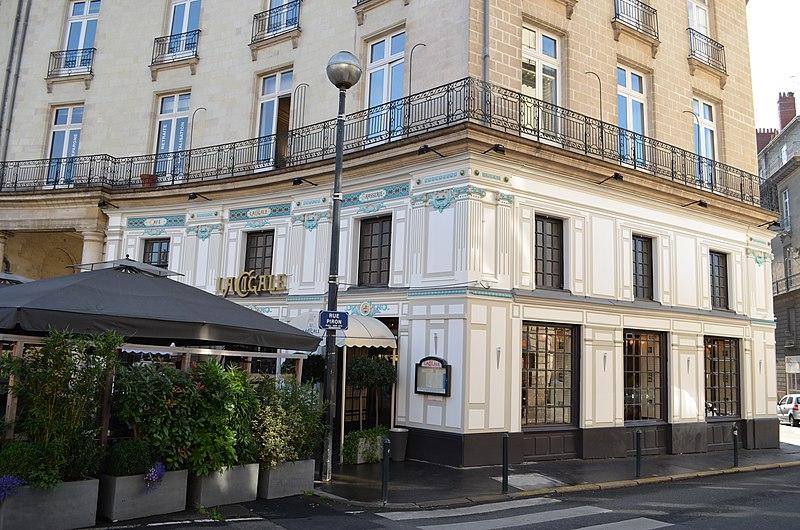 Photo du Monument Historique Brasserie La Cigale situé à Nantes
