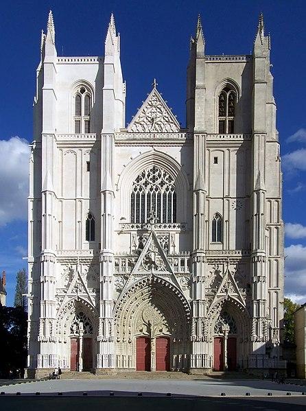 Photo du Monument Historique Cathédrale Saint-Pierre Saint-Paul situé à Nantes